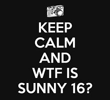 WTF is Sunny 16 Rule Unisex T-Shirt