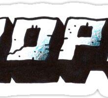 NOPE. Sticker