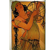 'Solome' by Alphonse Mucha (Reproduction) Photographic Print