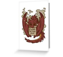Creature Shaming Smaug Greeting Card