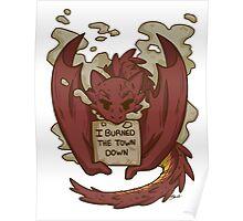 Creature Shaming Smaug Poster