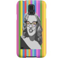 Marilyn Monroe in color glasses Samsung Galaxy Case/Skin