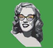 Marilyn Monroe in color glasses Kids Clothes