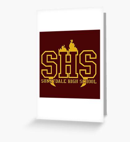 Sunnydale High School Greeting Card