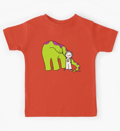 My friendly dinosaur Kids Tee