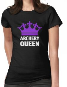 Funny Archery Queen Shirt Womens Fitted T-Shirt