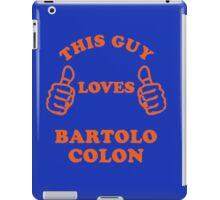 bartolo colon iPad Case/Skin