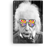 keep smart wearing glass Canvas Print