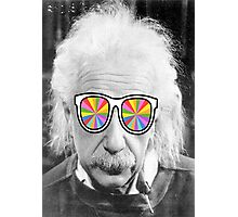 keep smart wearing glass Photographic Print