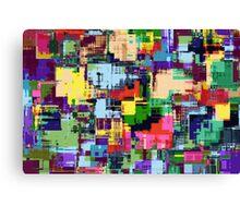 Abstract Colour Adventure Canvas Print