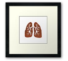 Lungs. Framed Print