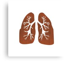 Lungs. Canvas Print