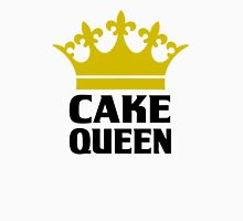 Cake Queen Funny Shirt Womens Fitted T-Shirt