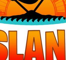 jimmy buffett island time ampyang Sticker