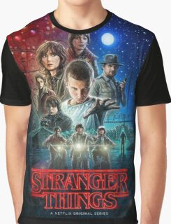 The Stranger Things Poster Graphic T-Shirt