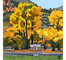 Arrowtown Gold Photographic Print