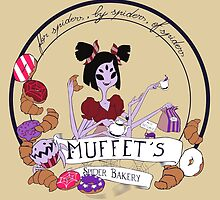 Muffet's Spider Bakery (light color backgroud) by Kravache