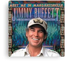 meet me in margaritaville jimmy buffett the ultimate album collection ampyang Canvas Print