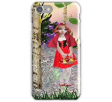 Red Riding Hood (937 views) iPhone Case/Skin