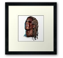 Young Thug - Slim Season Framed Print