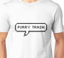Furry Trash Speech Bubble Unisex T-Shirt