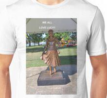 Lucille Ball Statue. Unisex T-Shirt