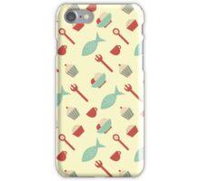 Food seamless pattern iPhone Case/Skin