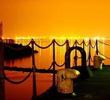 port edgar at sundown by Lesleymc77