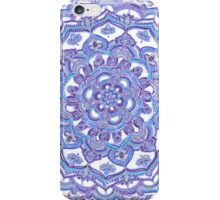 Lilac Spring Doodle Flower iPhone Case/Skin