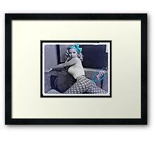 Fart Chick Framed Print