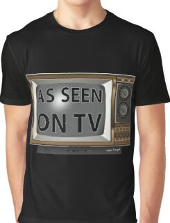 As Seen on TV Vintage  Funny Design  Graphic T-Shirt