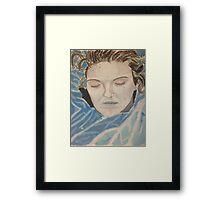 Laura Palmer, The Mermaid Framed Print