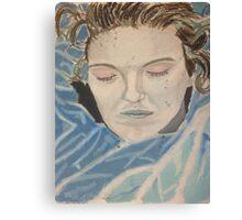Laura Palmer, The Mermaid Canvas Print