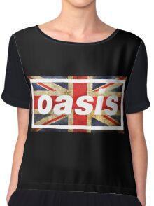 oasis england Chiffon Top