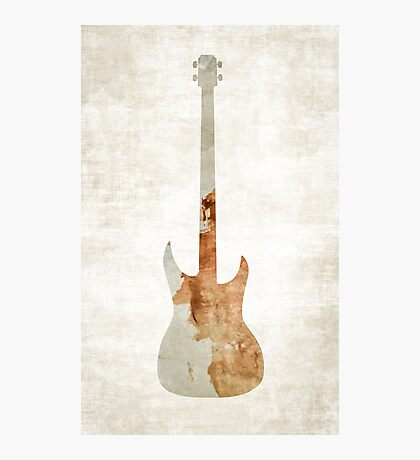 Brown Bass Photographic Print