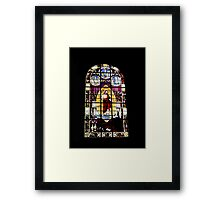 St Mary L'Eglise, Normandie Framed Print