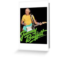 SAN01 Jimmy Buffett and the Coral Reefer Band TOUR 2016 Greeting Card