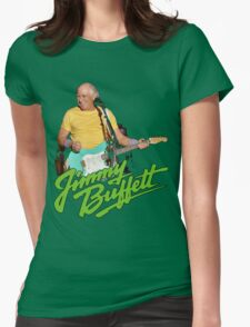 SAN01 Jimmy Buffett and the Coral Reefer Band TOUR 2016 Womens Fitted T-Shirt