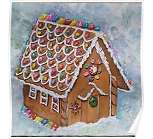 GINGERBREAD HOUSE Poster