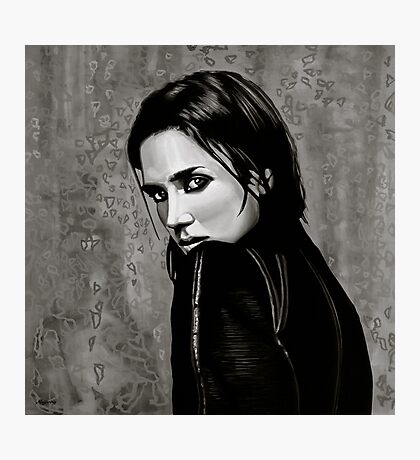 Jennifer Connelly Painting Photographic Print