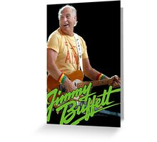 SAN02 Jimmy Buffett and the Coral Reefer Band TOUR 2016 Greeting Card