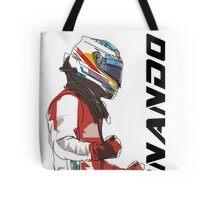 Fernando Alonso Tote Bag