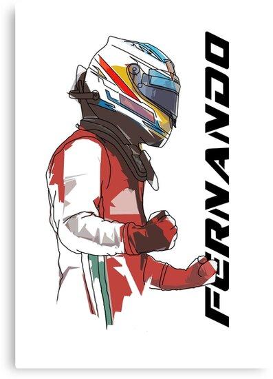 Fernando Alonso by Tom Clancy