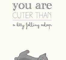 Cuter than... by celynek