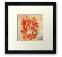Waterolor Squirrel Framed Print