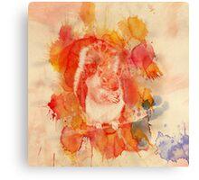 Waterolor Squirrel Canvas Print