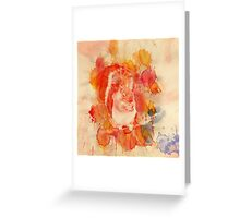 Waterolor Squirrel Greeting Card