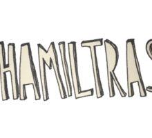 Hamilton The Musical - #HAMILTRASH Sticker
