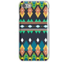 Colorful bright tribal print iPhone Case/Skin
