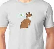 boxer dog dreams | bully breed ball fetch chase love bff brindle cute thinking dreaming daydreamer Unisex T-Shirt